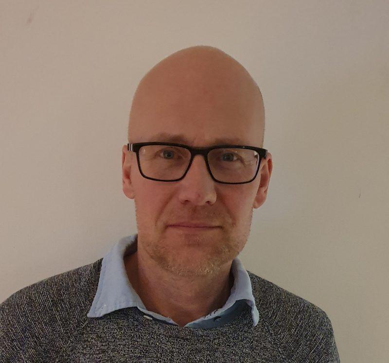Fredric Eklund, produktionschef Bergnäset norra